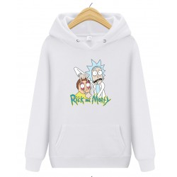 Sweat Rick et Morty blanc