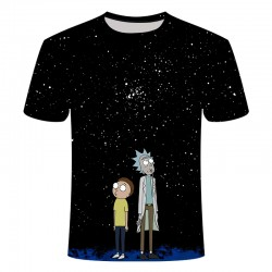 T shirt rick et morty homme