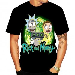 Tee Shirt Rick et Morty Noir