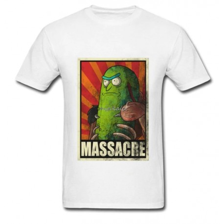T Shirt Rick et Morty Cornichon