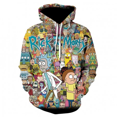 Sweat Shirt Rick et Morty